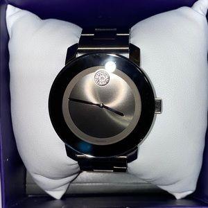 Movado BOLD watch worn one time! Like new!